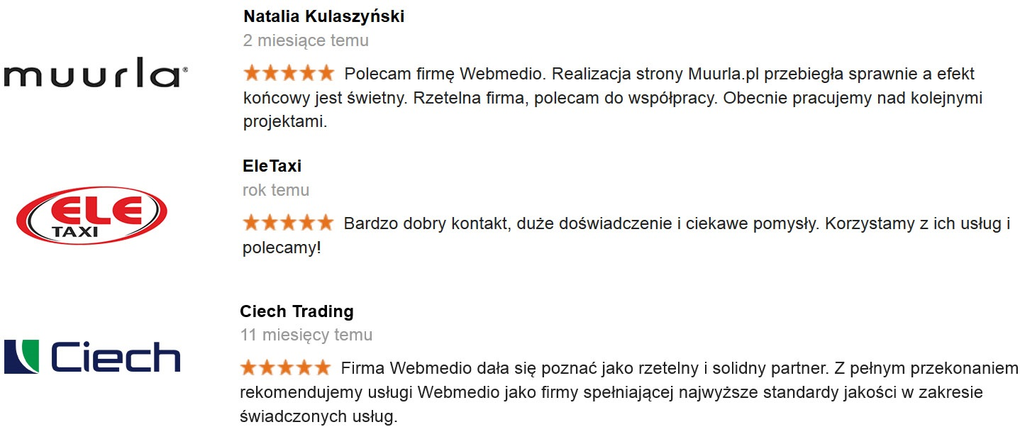 Opinie o Webmedio